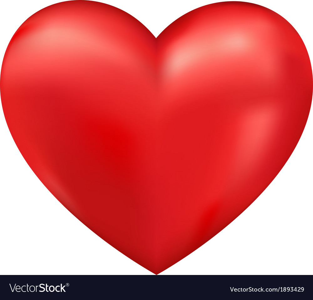 Shiny 3d heart