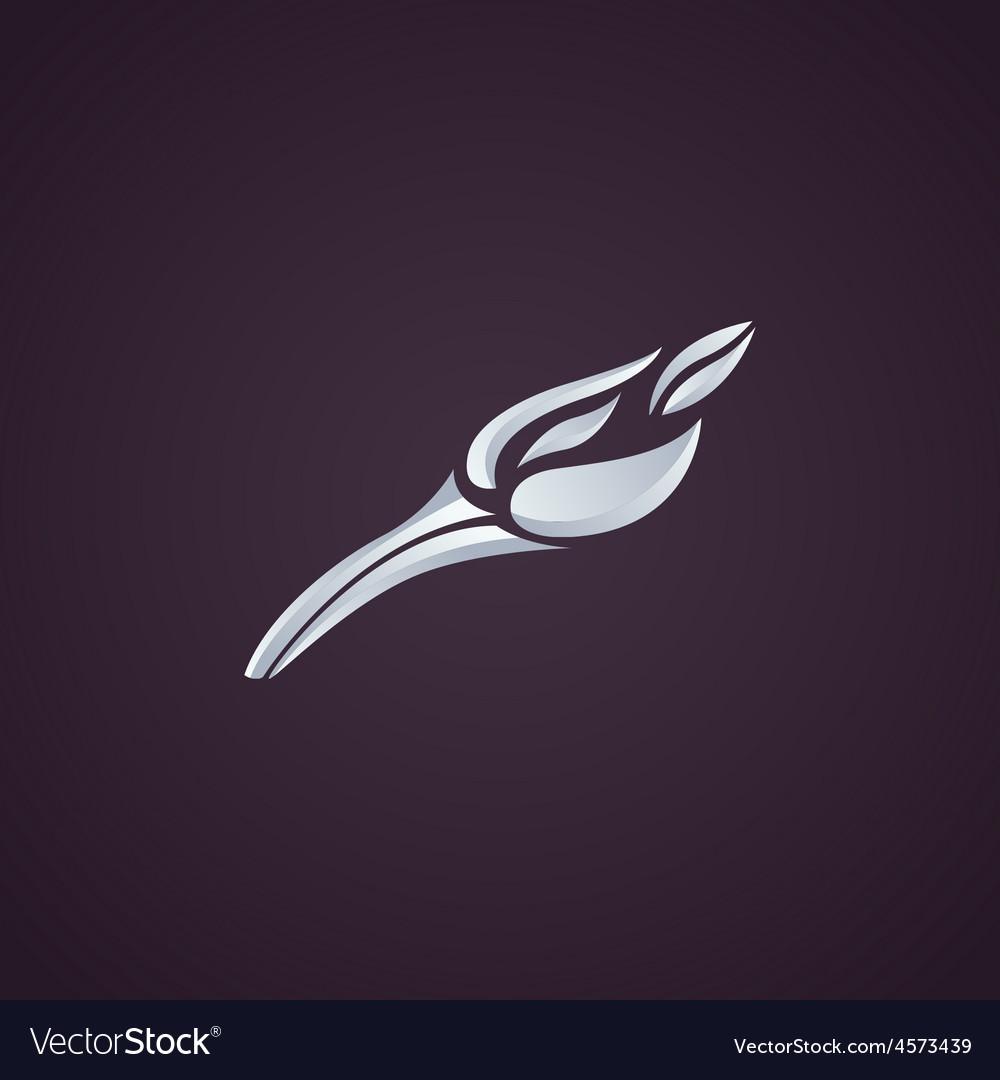 Anteater logo vector image
