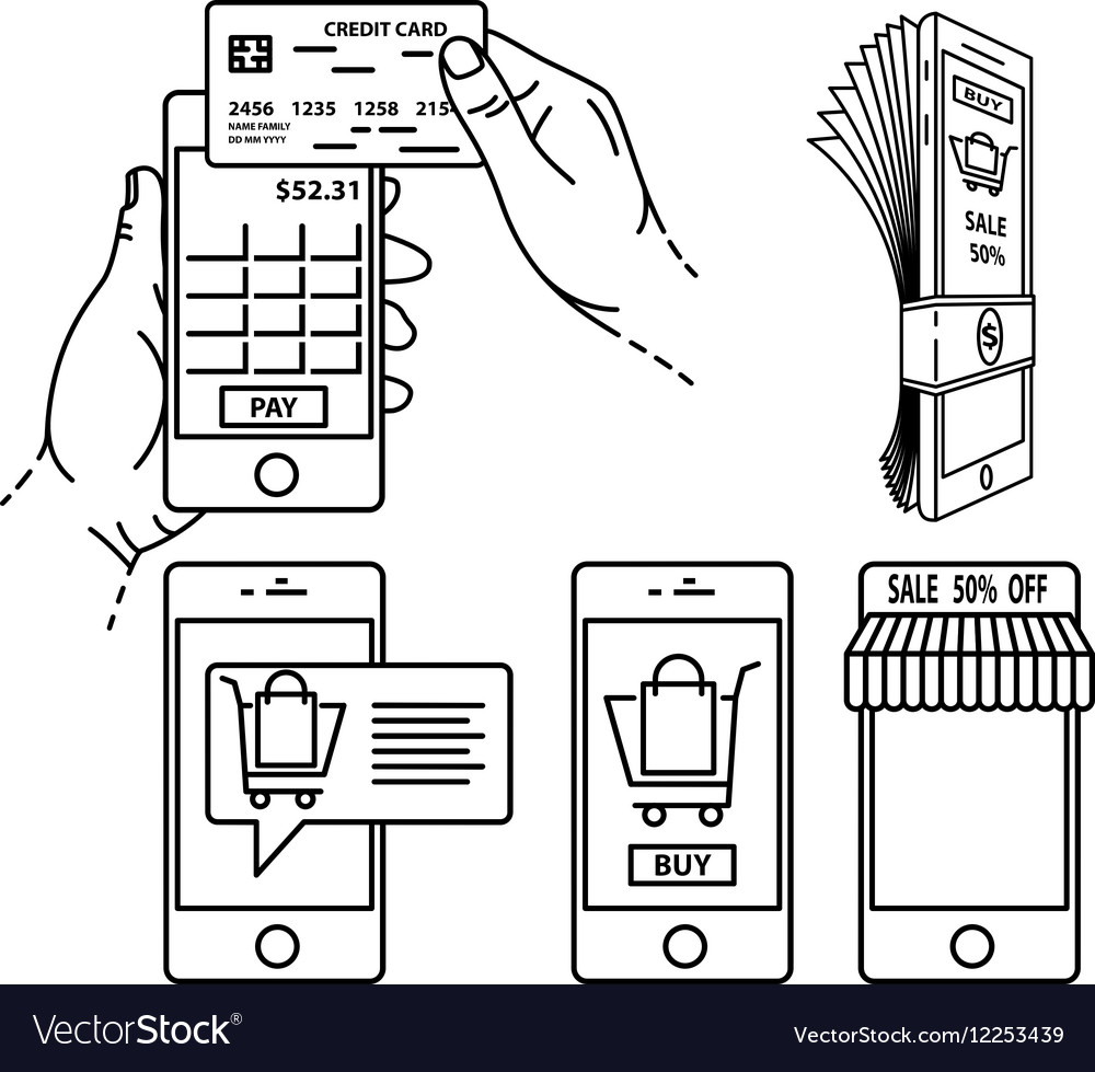 Mobile payment set