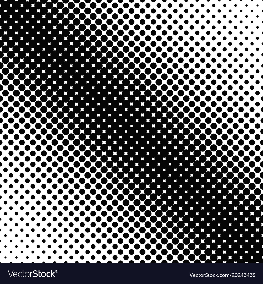 Simple abstract halftone dot pattern background vector image