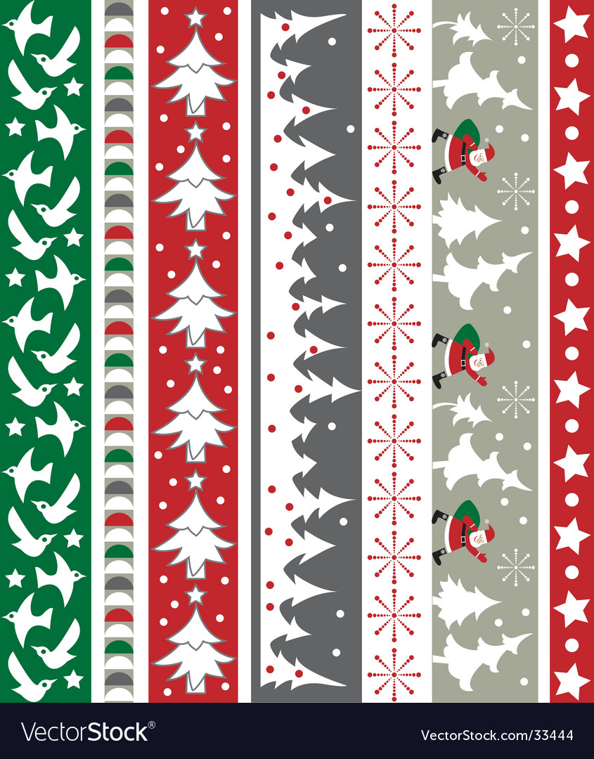 christmas border royalty free vector image vectorstock rh vectorstock com christmas border vector free download christmas border vector images