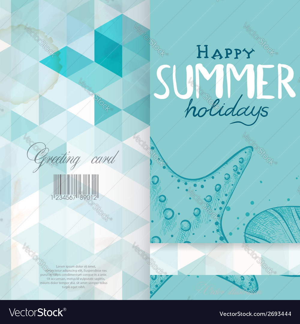 Greeting Card Design Template