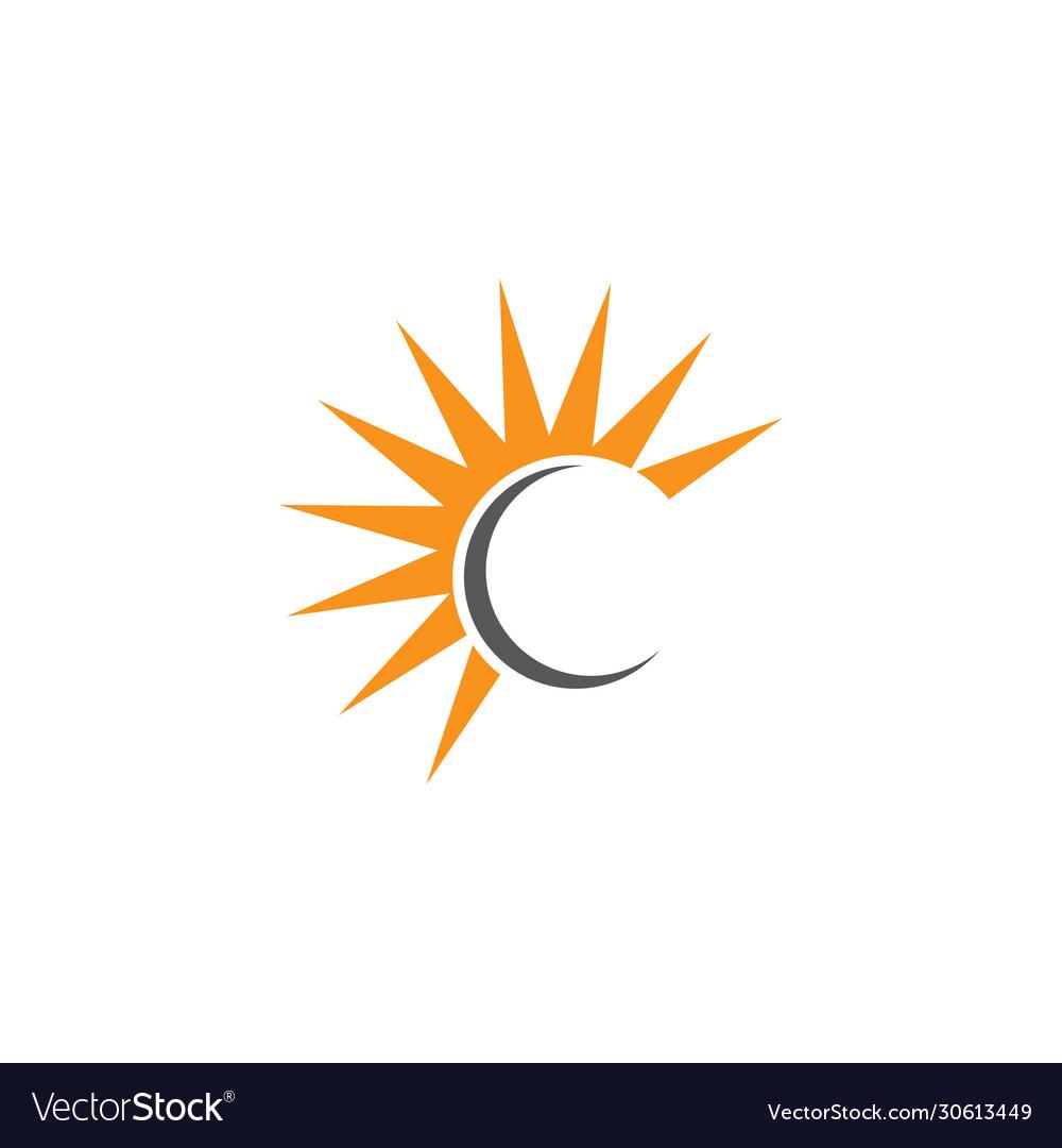 Letter c logo design template