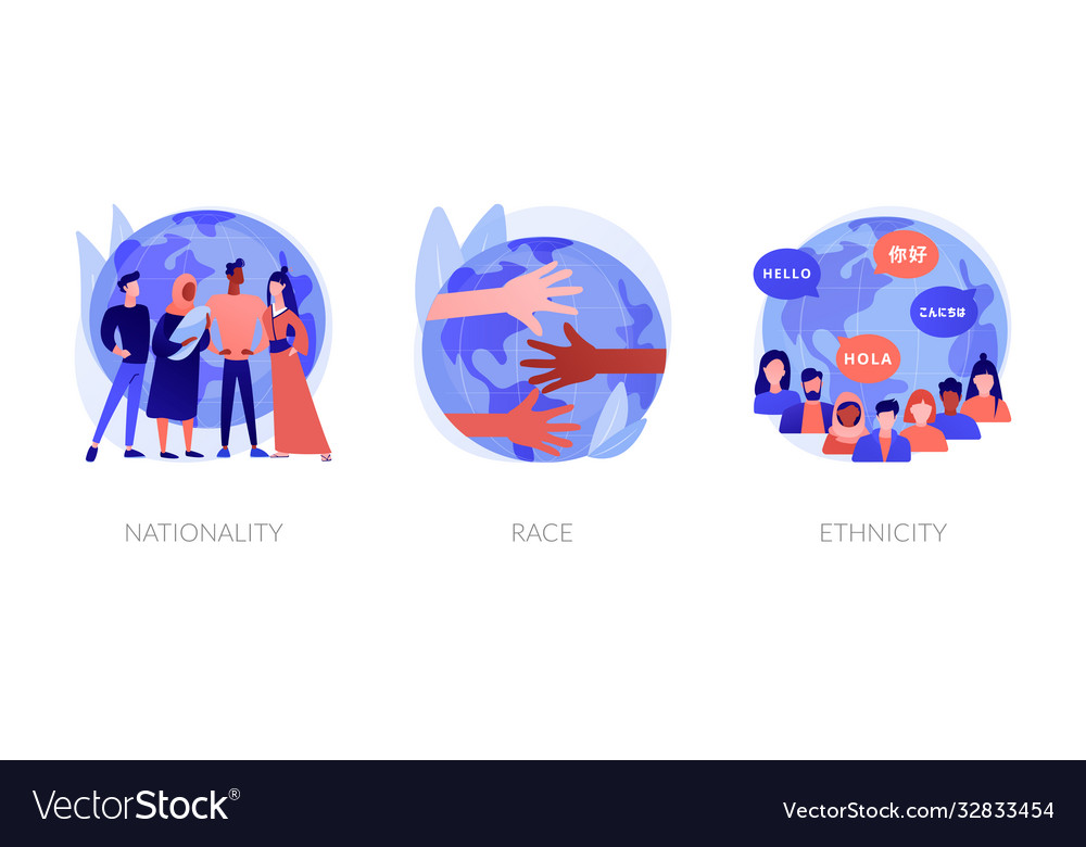Human diversity abstract concept