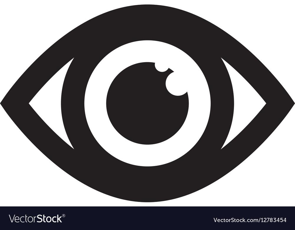 Surveillance Eye Symbol Royalty Free Vector Image