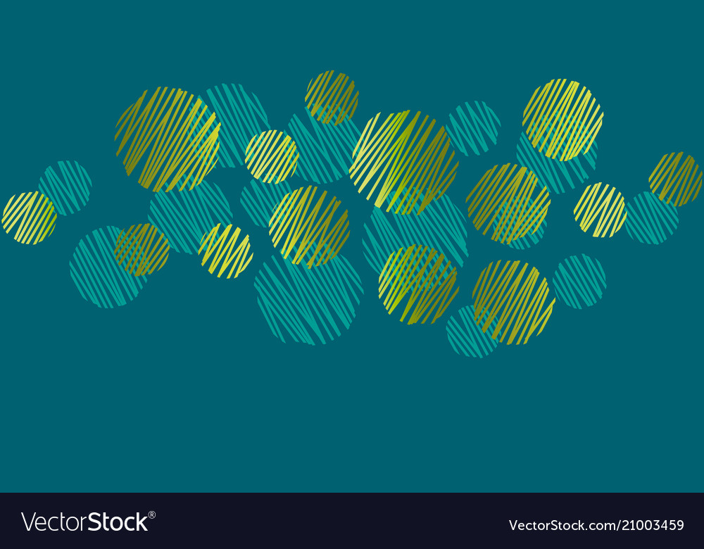 Abstract round dots green header pattern