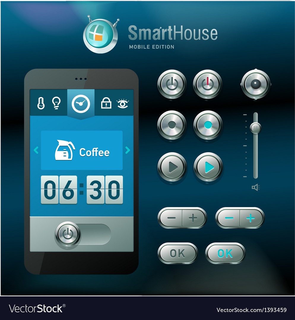 Mobile interface and elements