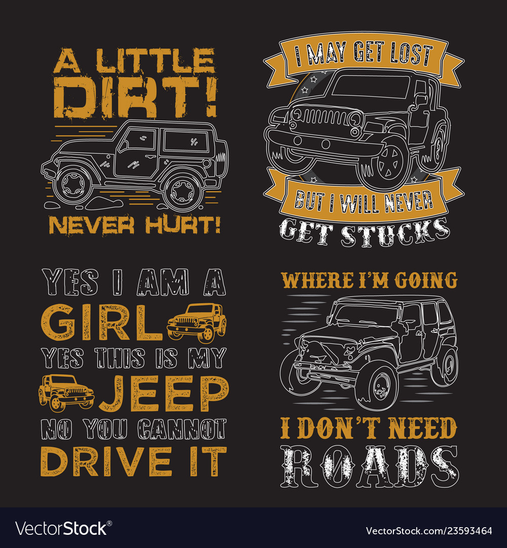 Adventure car quote and saying set good for print