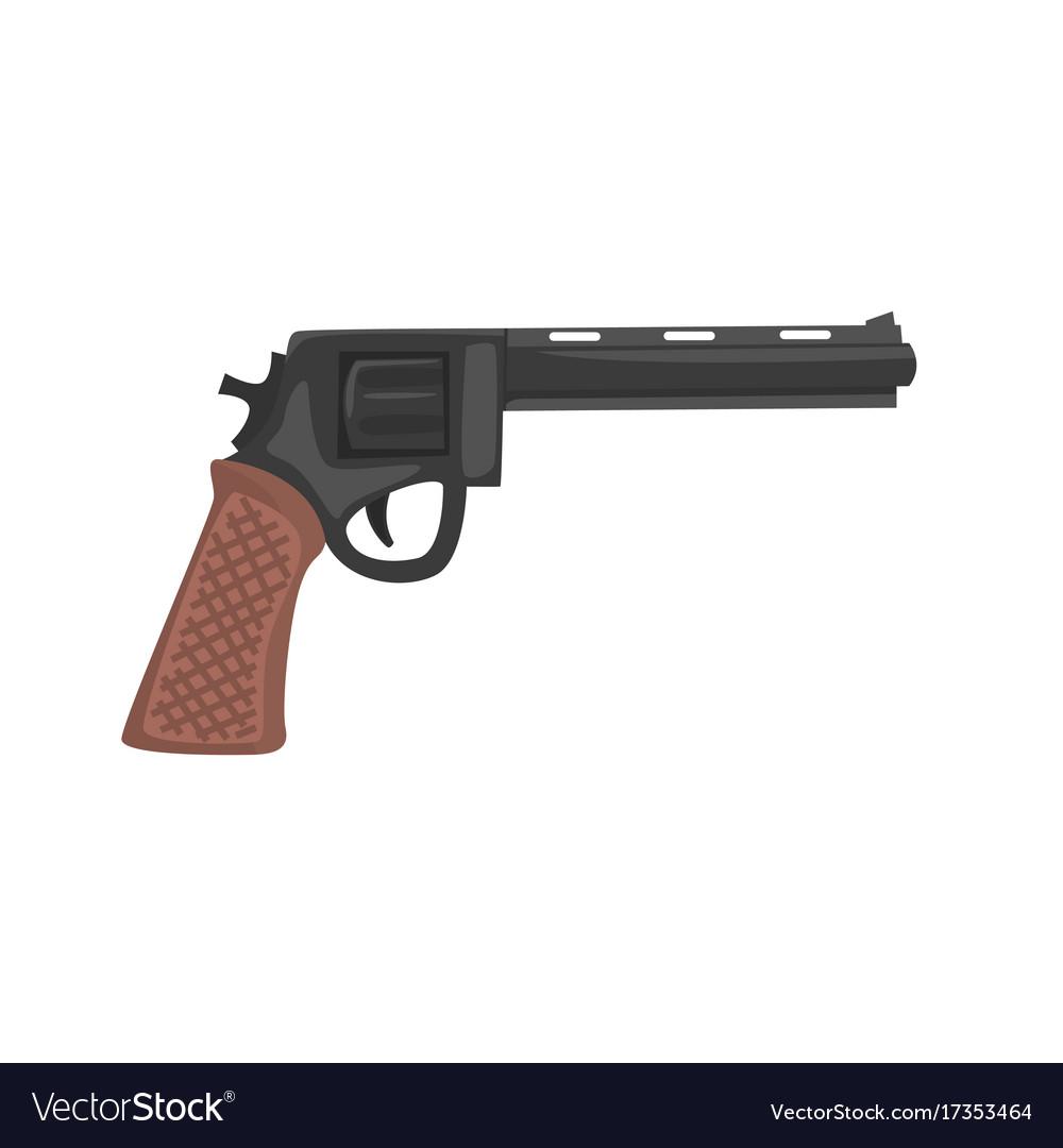 Classic pistol gun cartoon