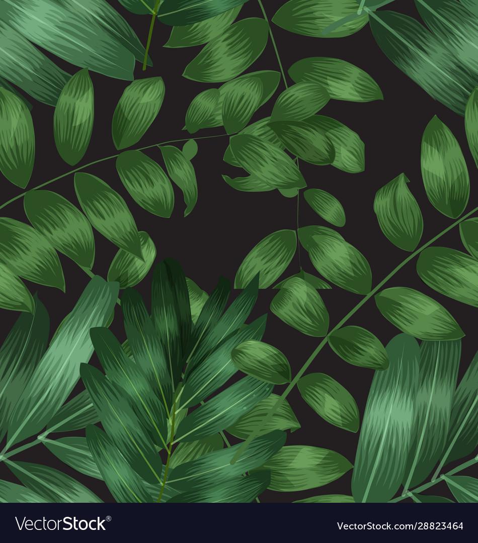 Seamless foliage pattern4