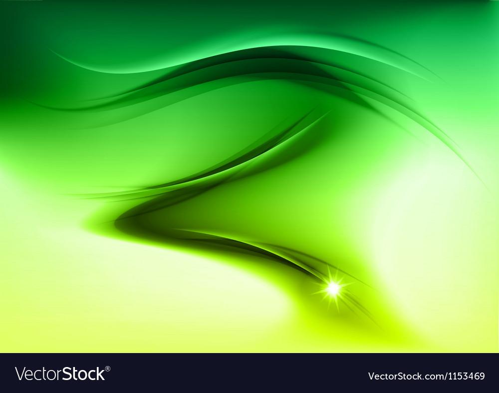 Abstract smoke green