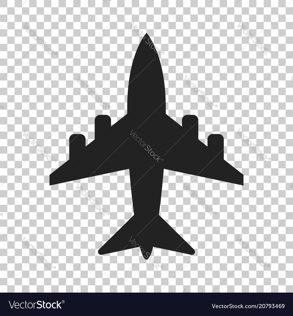 Airplane sign icon airport plane business
