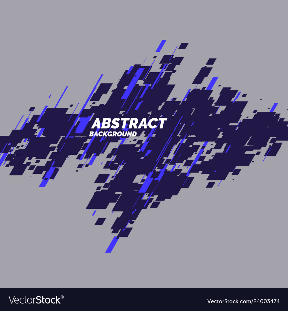 Abstract background with dynamic shapes