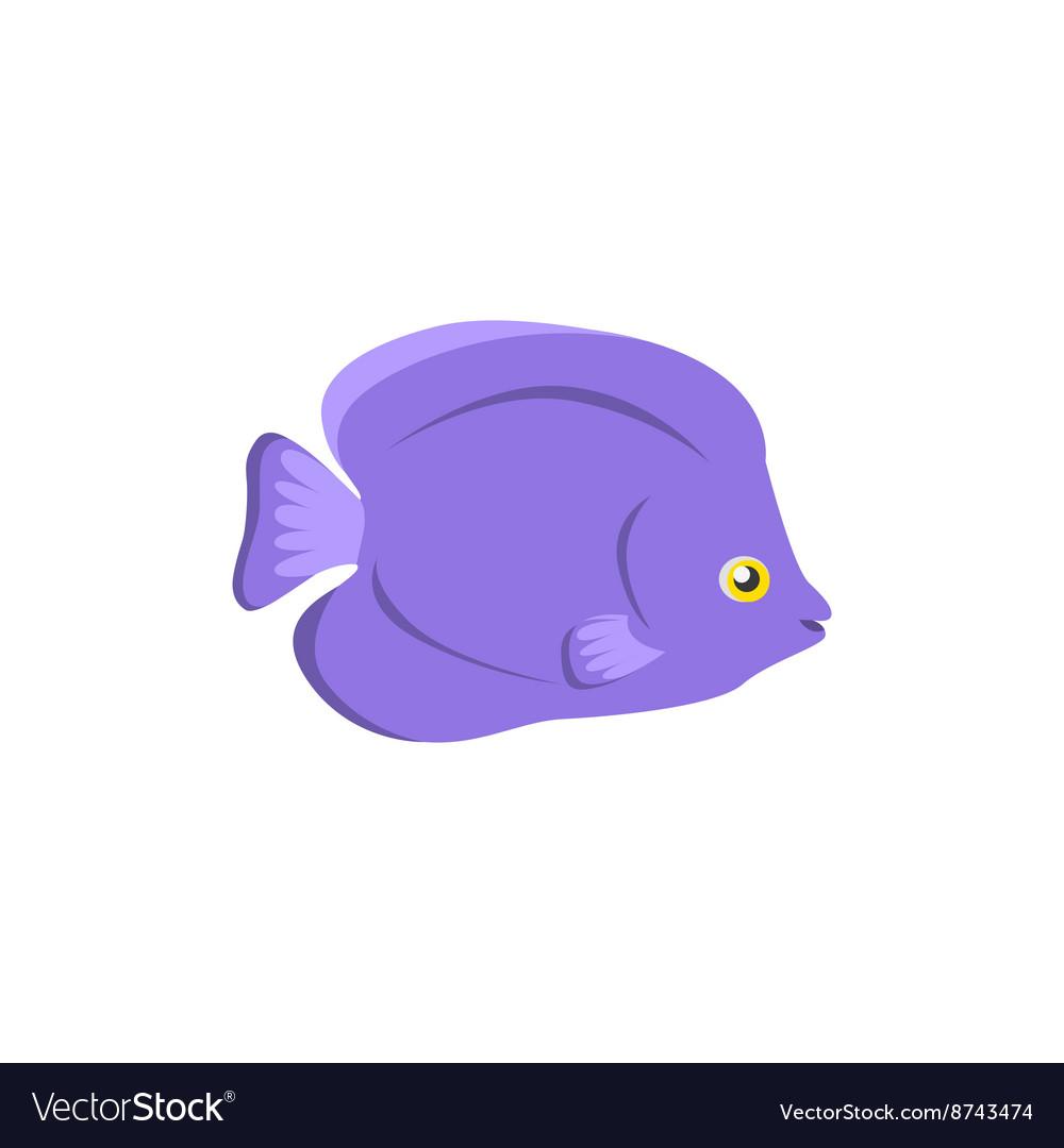 Chaetodon Larvatus Ocean Fish Icon