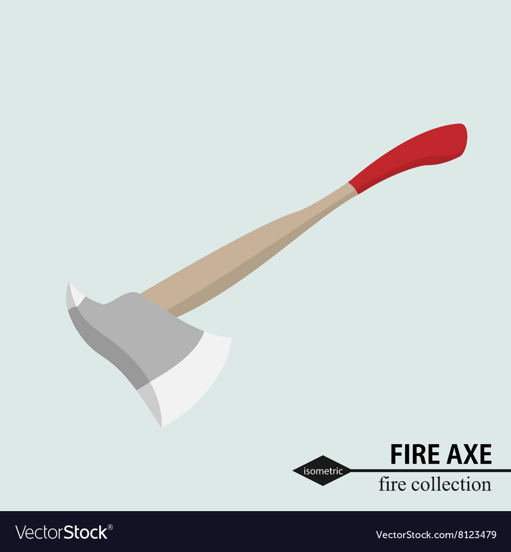 Axe to deal with obstacles in the fire situation