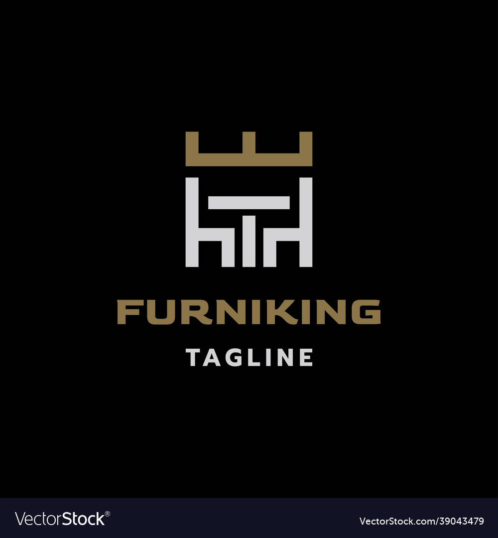 Furniture king logo design
