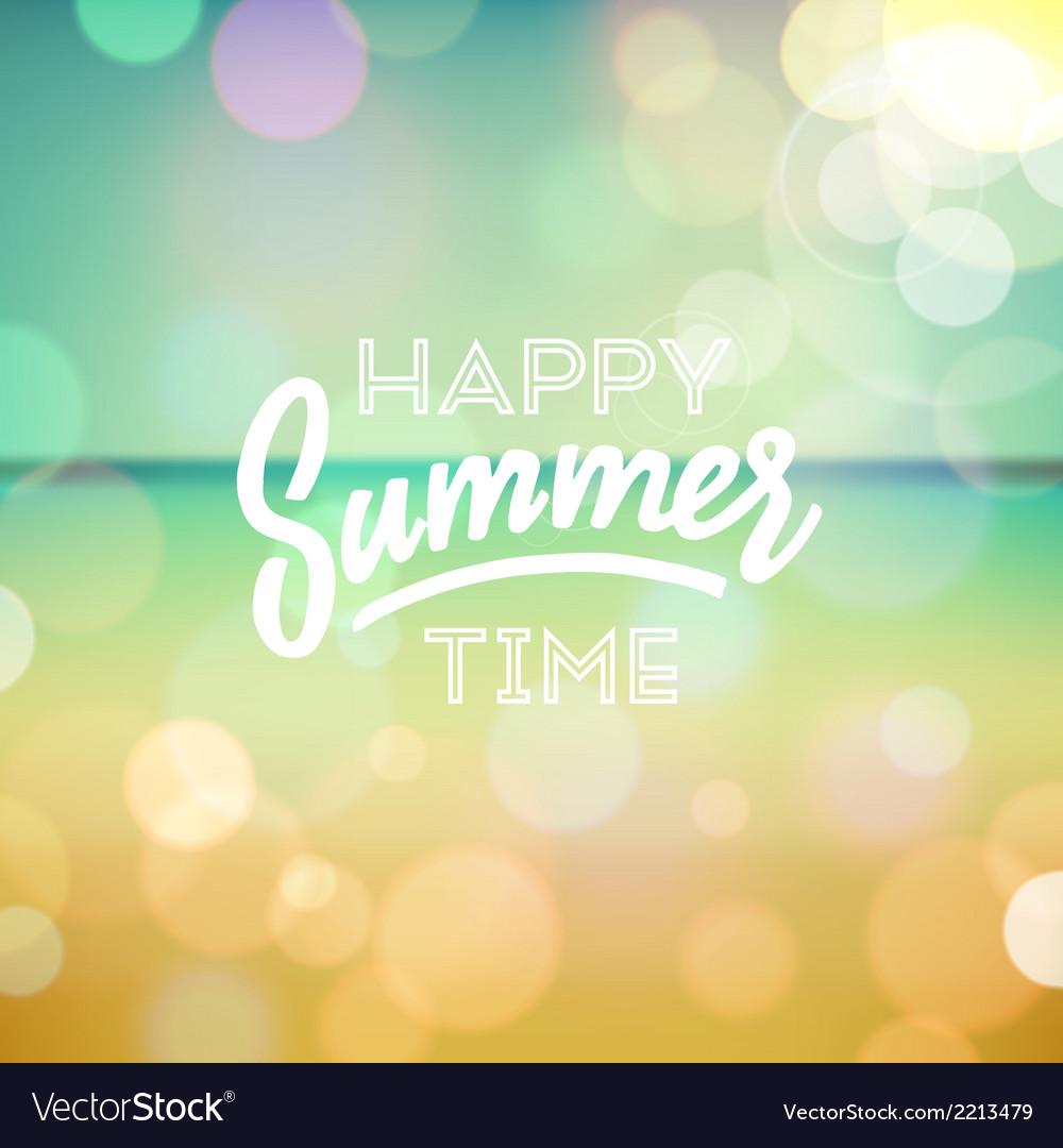 Summer tropical holidays background