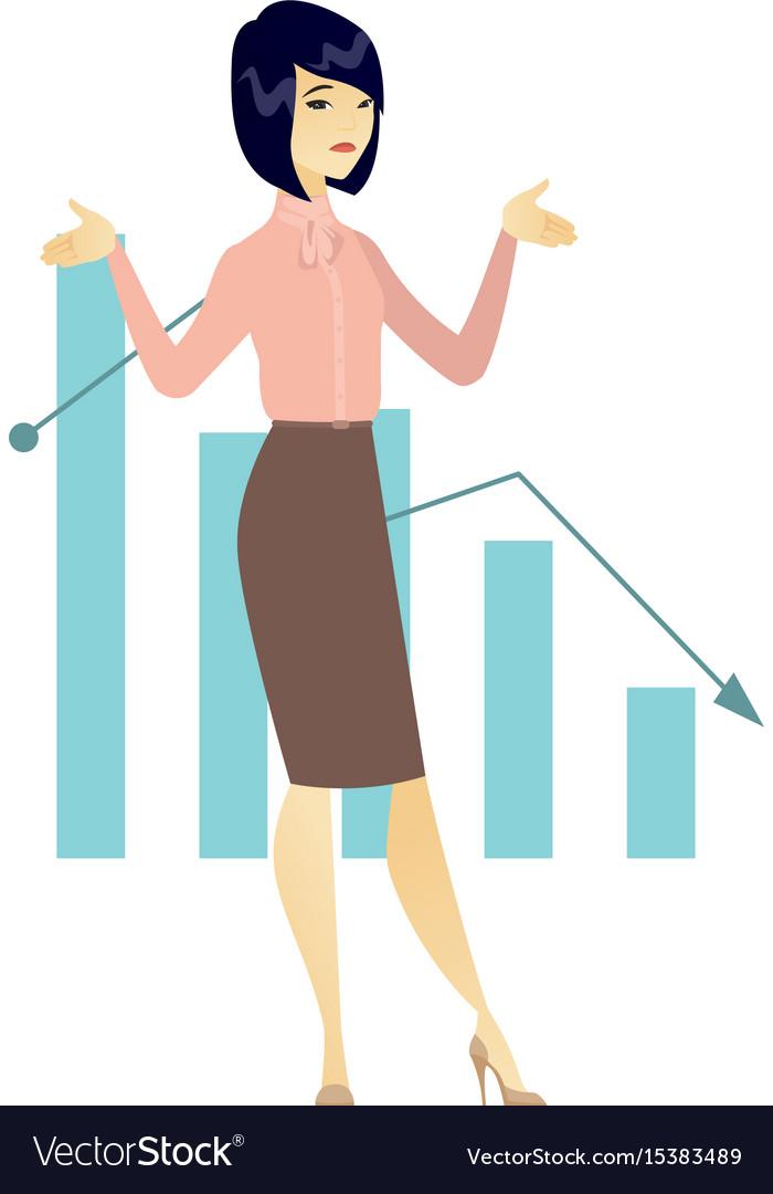 Bancrupt business woman