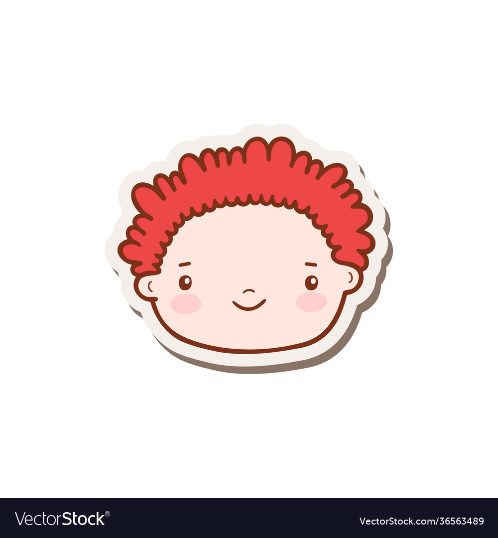 Doodle boy face