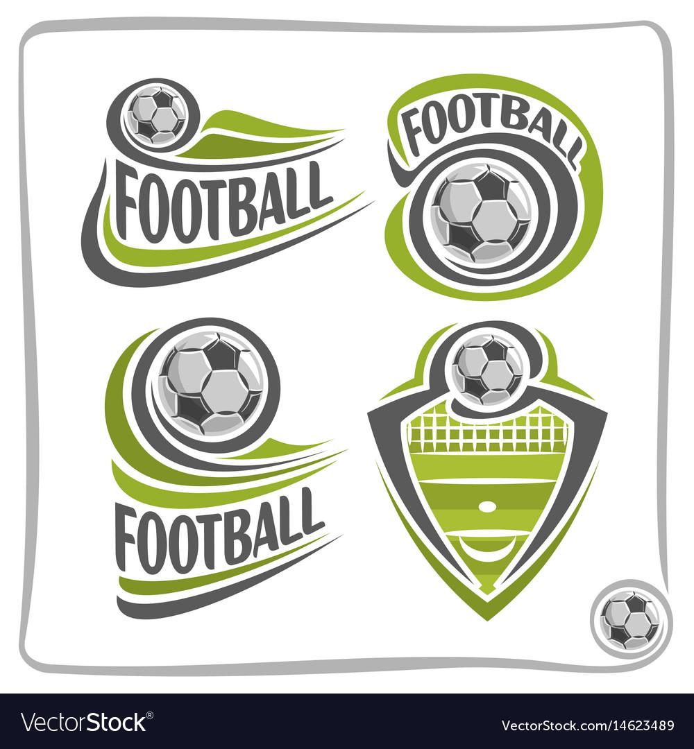 Logo football ball