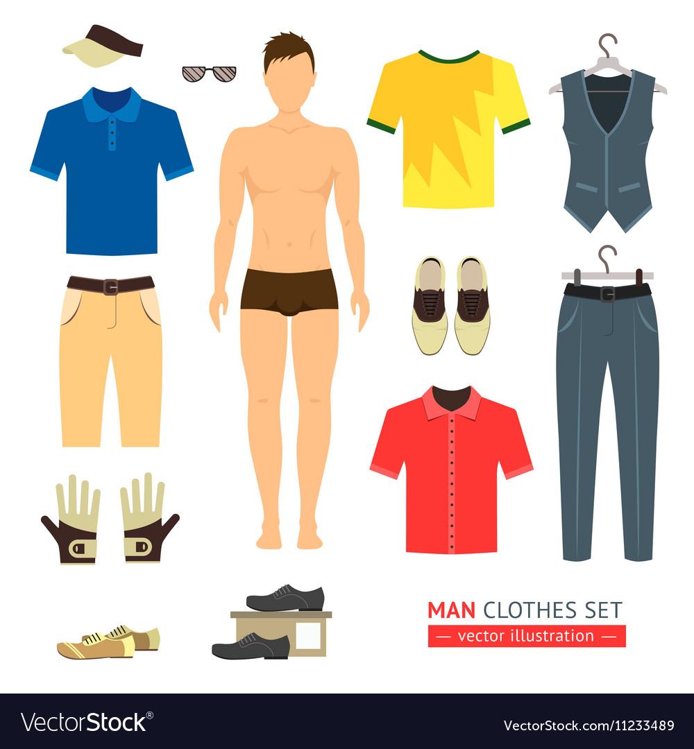 Man or Boy Clothes Set