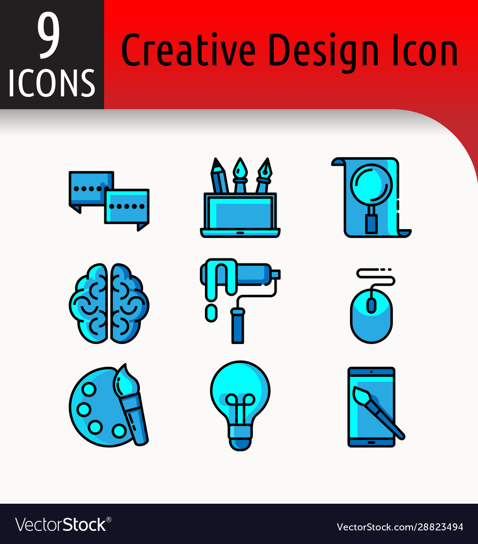 Creative design color icon2