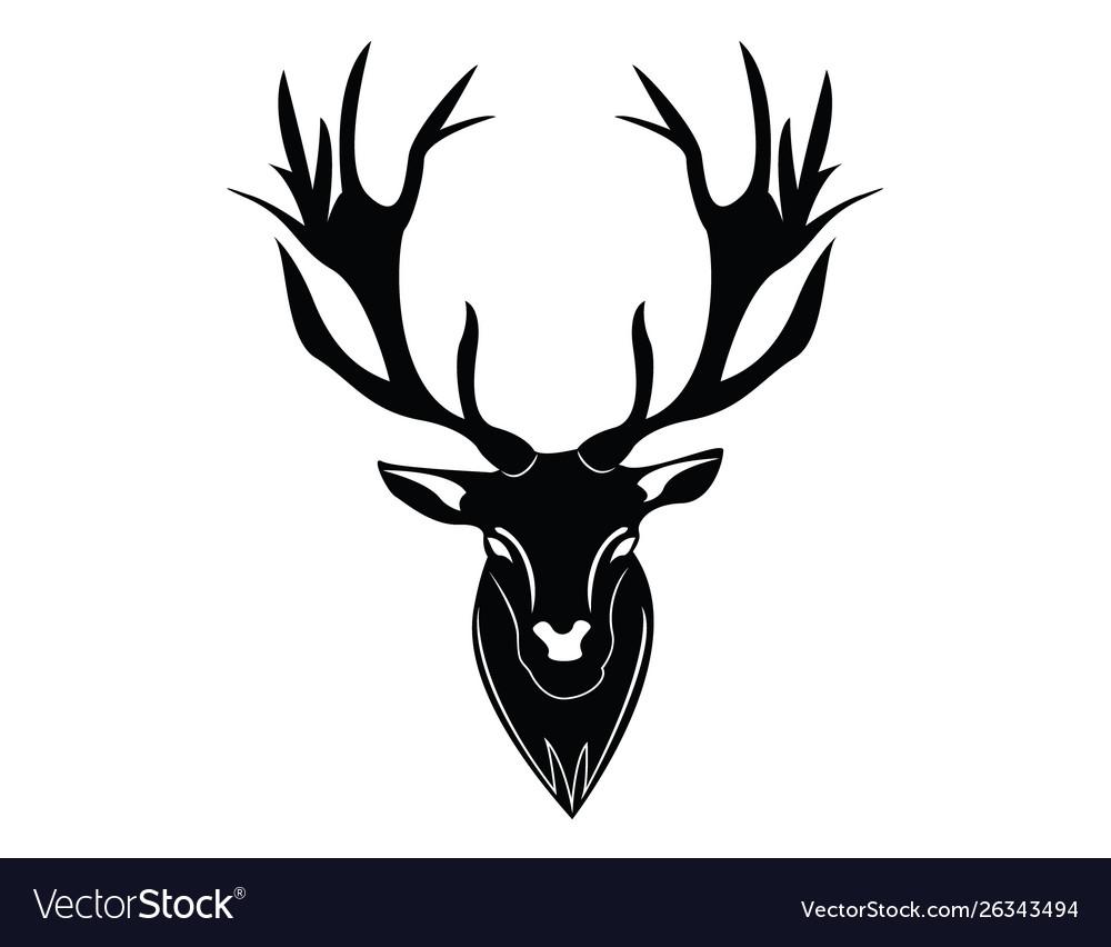 Dear head logo