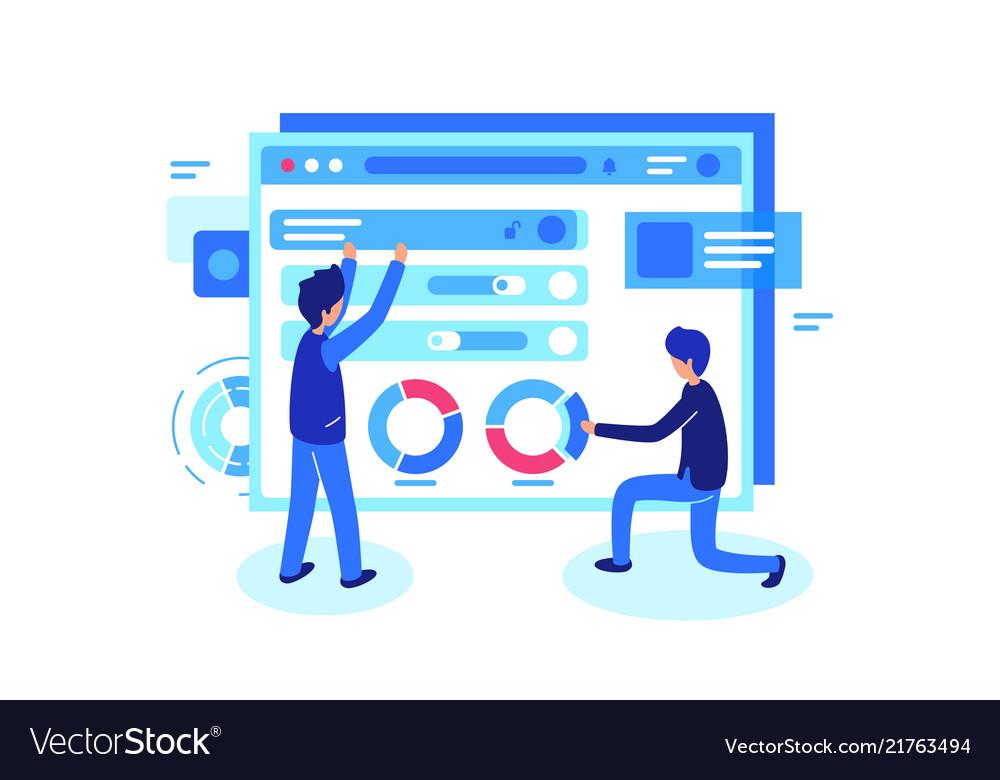 Online teamwork in group