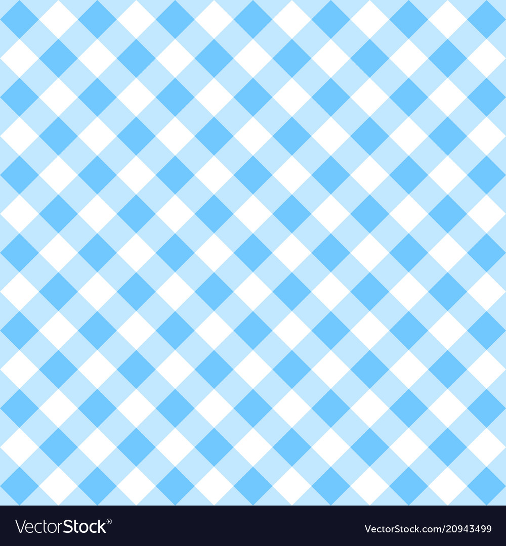 Blue gingham pattern