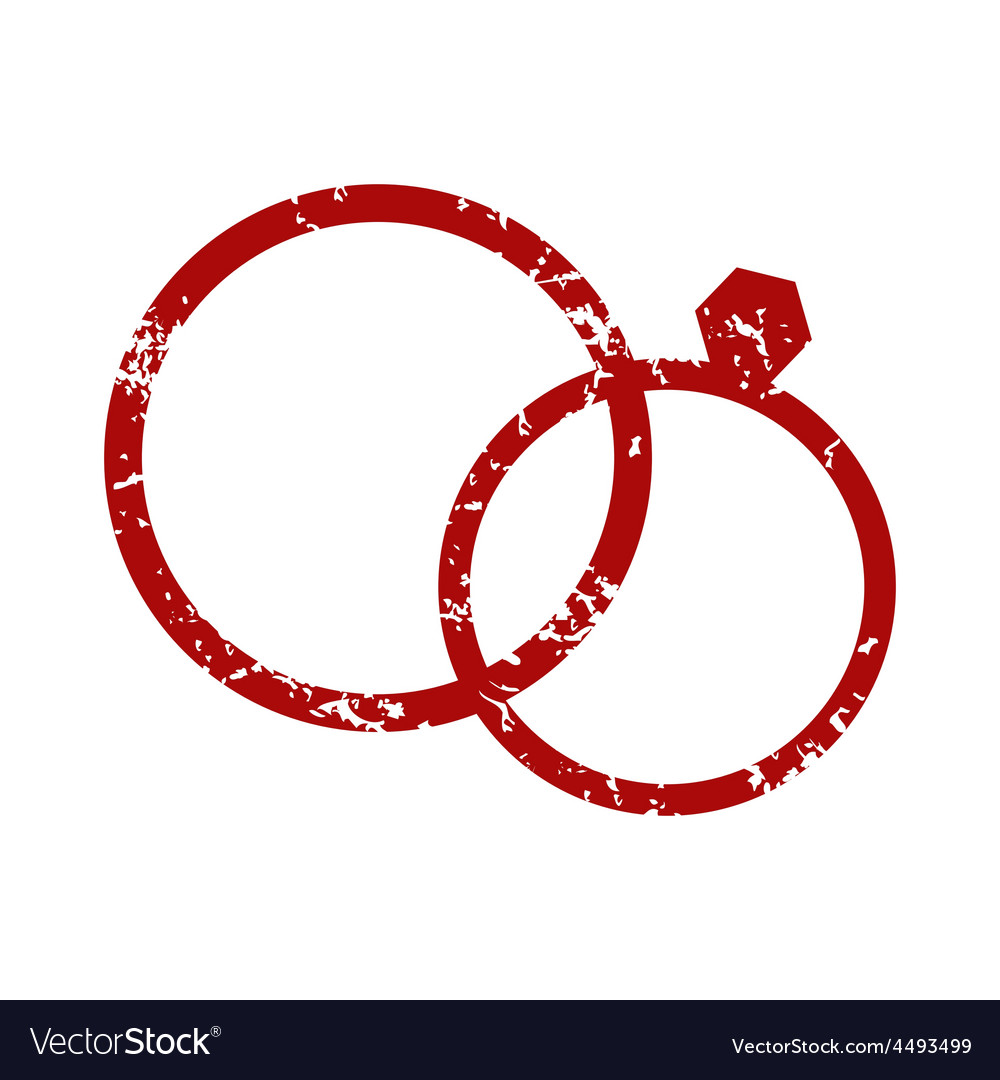 ring letter monogram symbol circle rings simple vector o line logo abstract round and design m