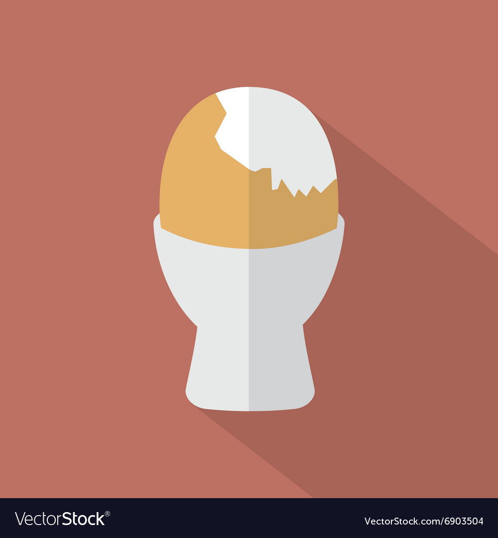 Boiled Egg Cup Icon