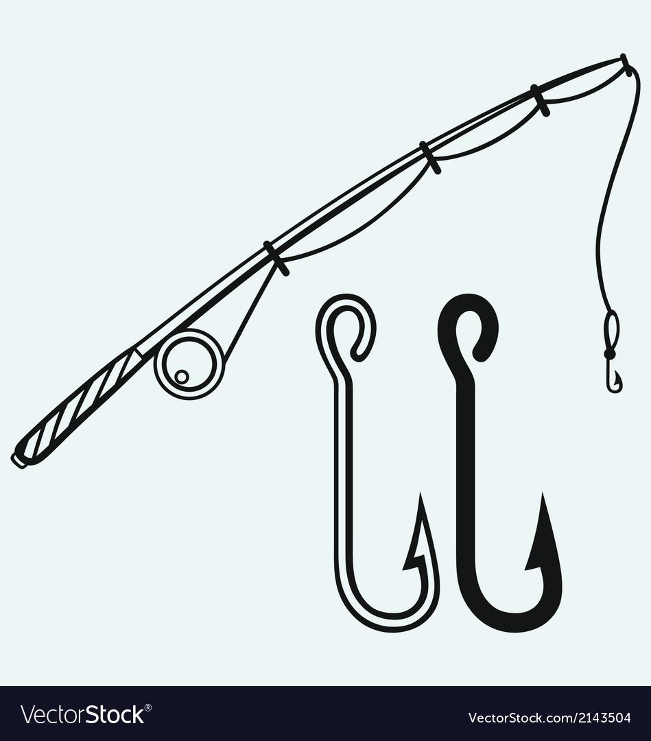 Fishing rod and fishing hook