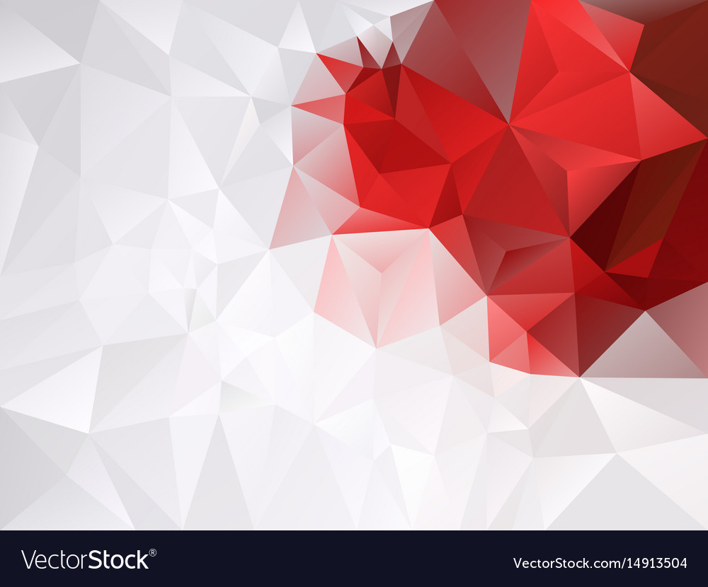 Gray White And Vibrant Red Color Background