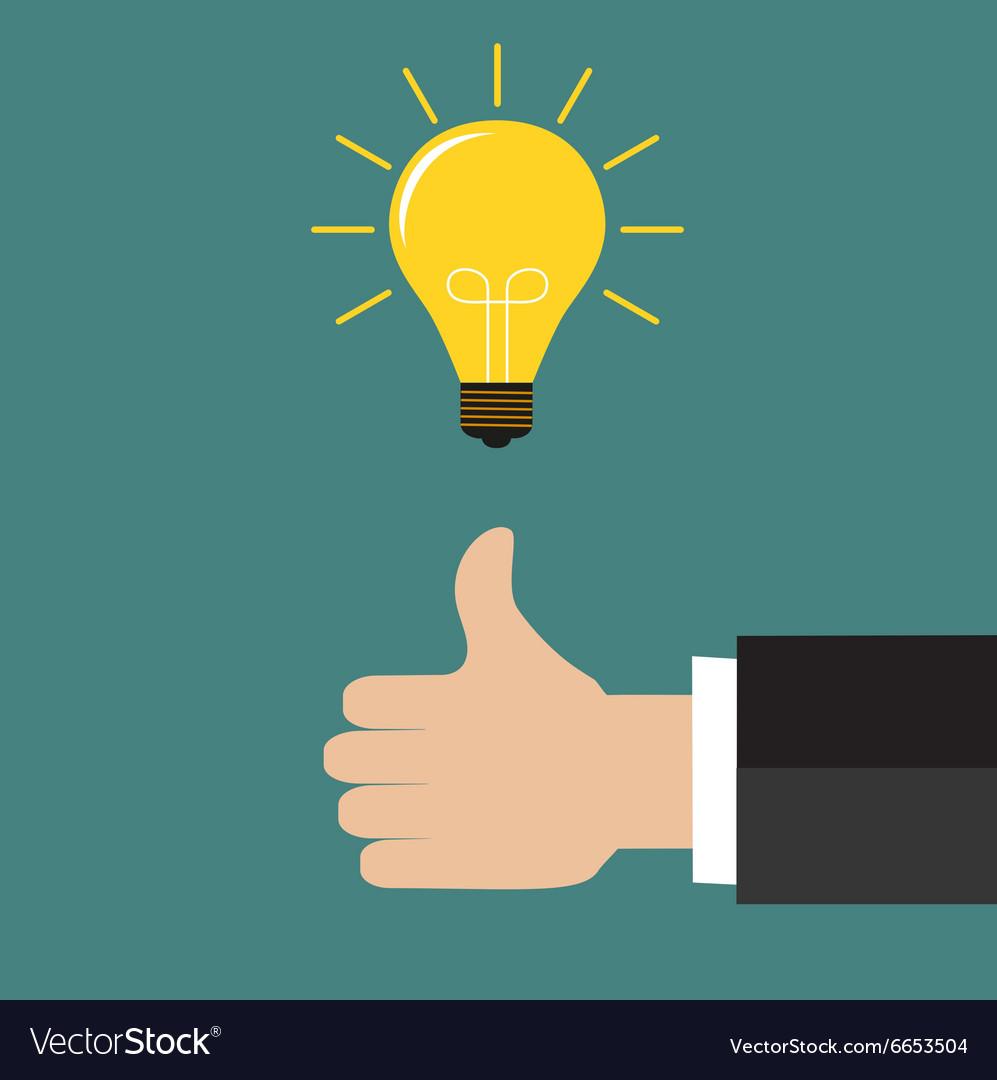 Great Idea Business idea concept