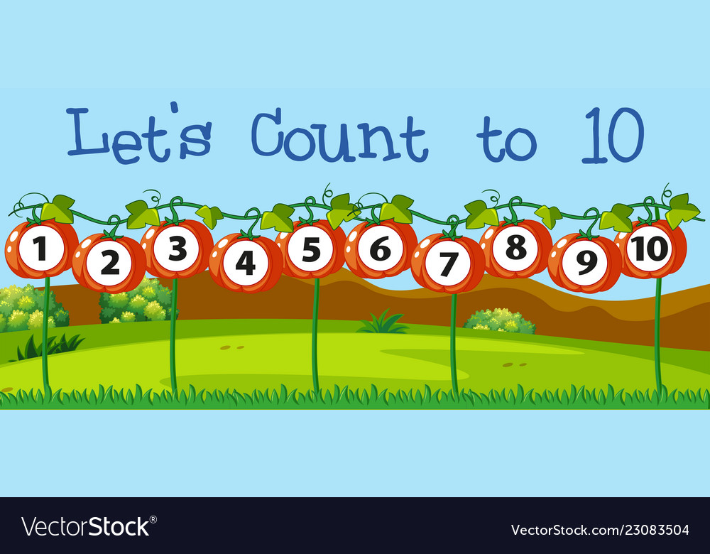 Math count number to ten