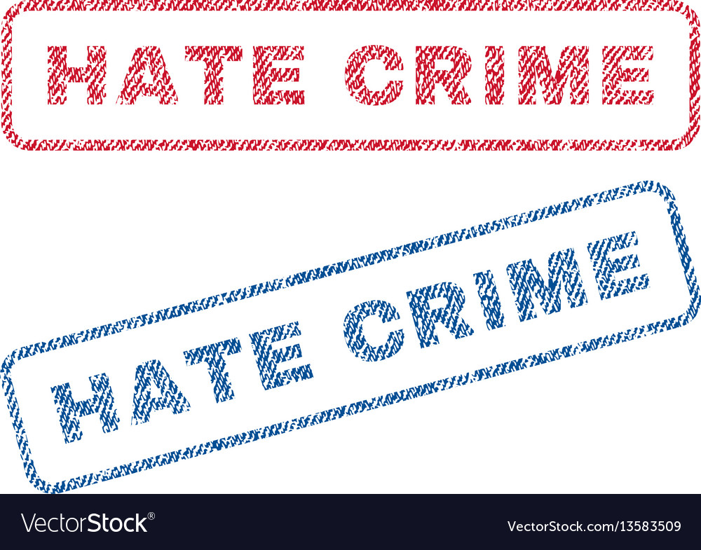 Hate crime textile stamps