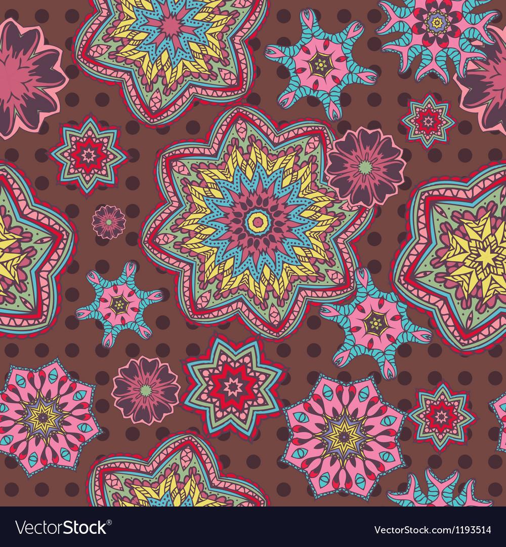 Arabesque floral pattern background