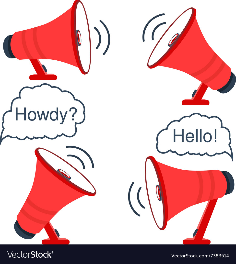 red loudspeaker royalty free vector image vectorstock red loudspeaker royalty free vector image vectorstock