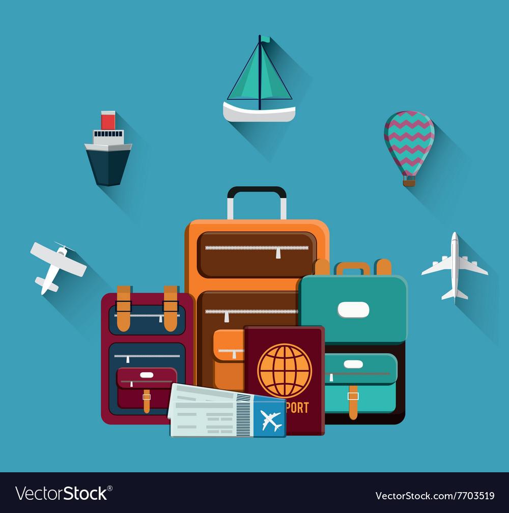 Travel icon design