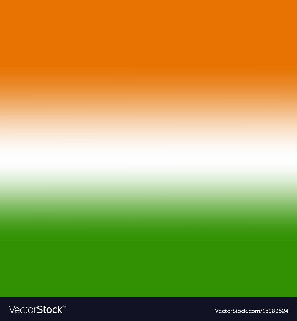 indian flag tricolor background wallpaper vector image