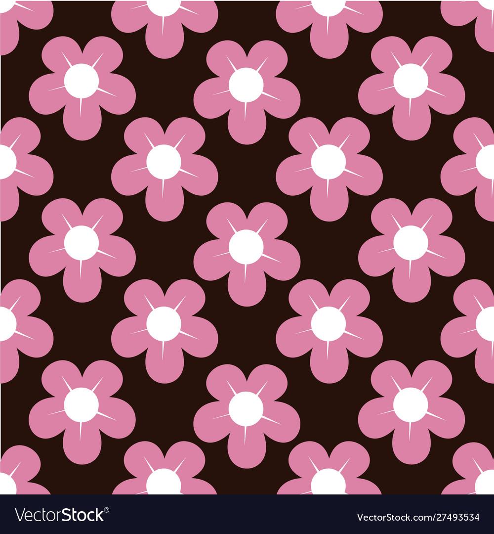 Lovely flower background pattern