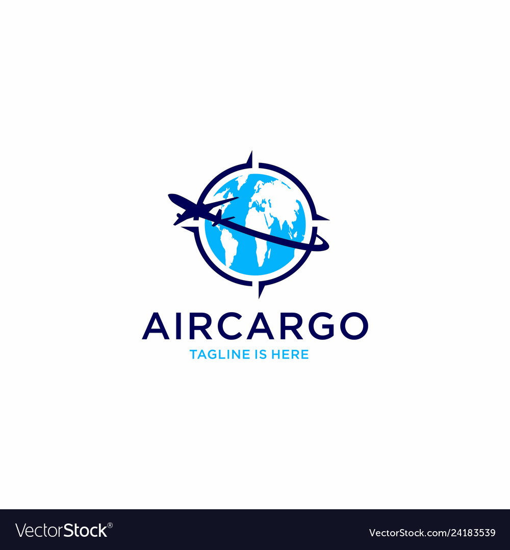Aircargo aviation logo