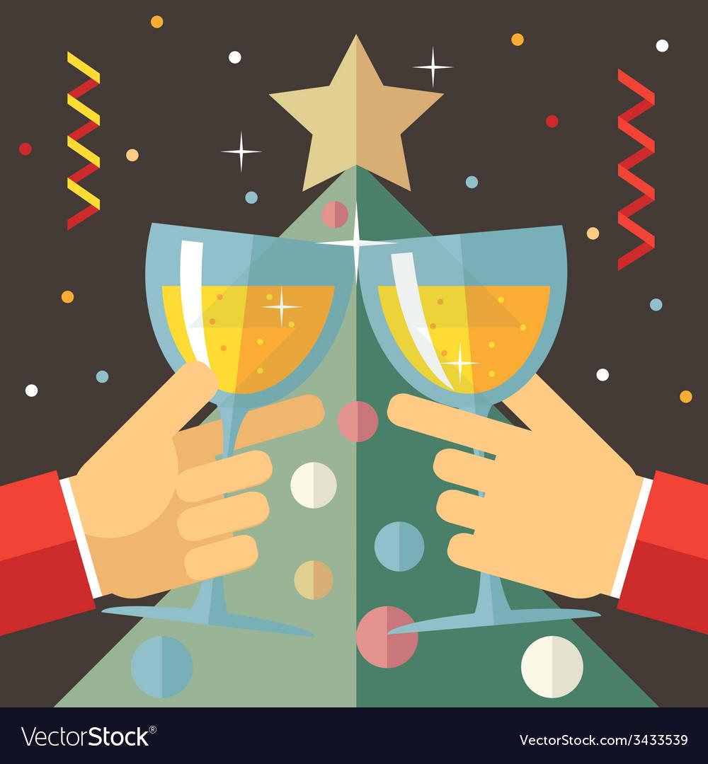 New Year Celebration Success and Prosperity Symbol