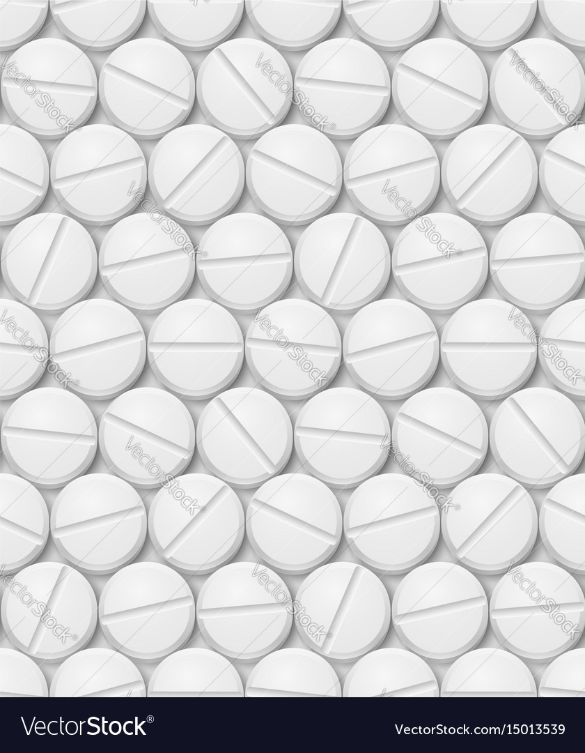 Seamless texture of pill for design