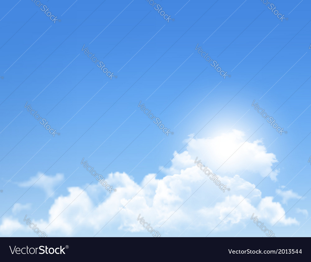 Background with blue sky and clouds backgrounds