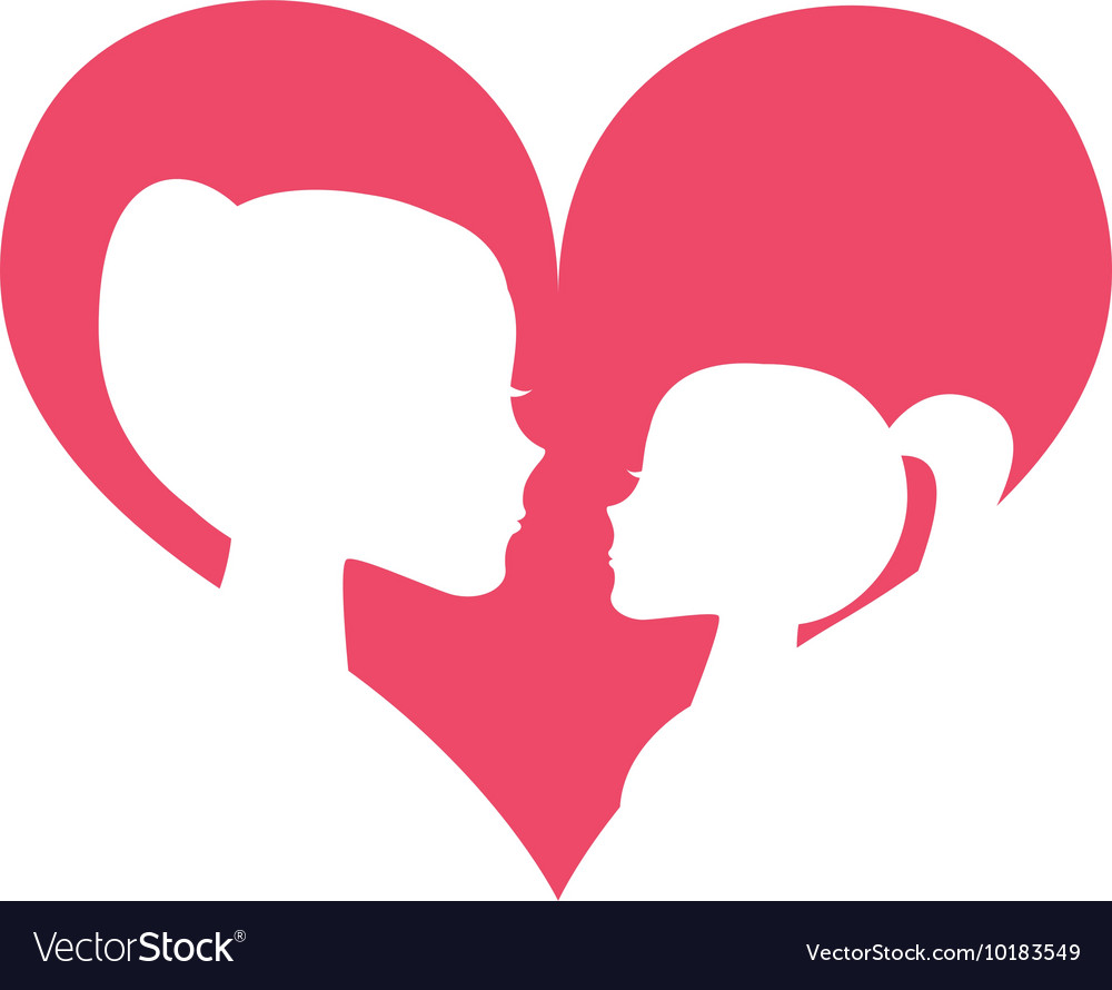 Mother Daughter Silhoeutte Icon Royalty Free Vector Image-6876