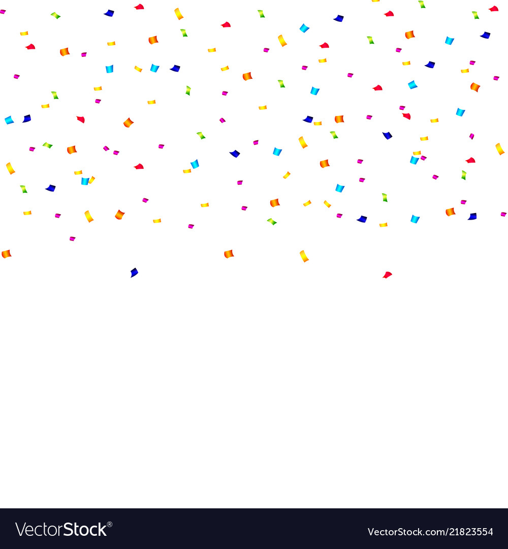 Abstract confetti background with polka dot