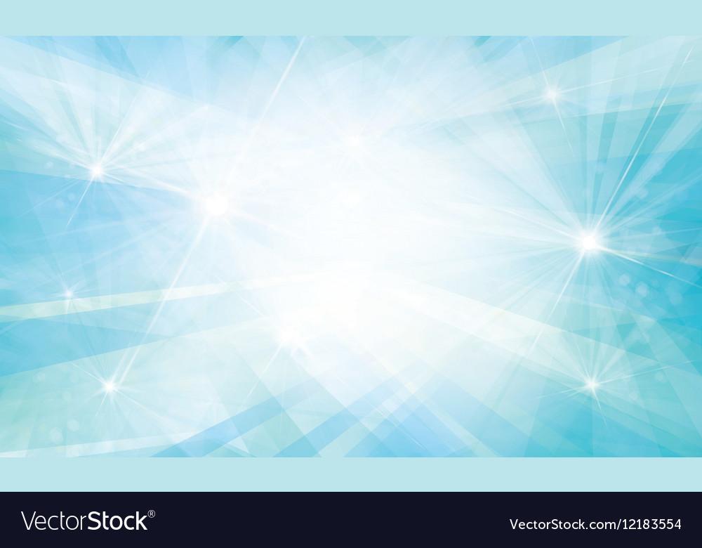 Blue background lights rays