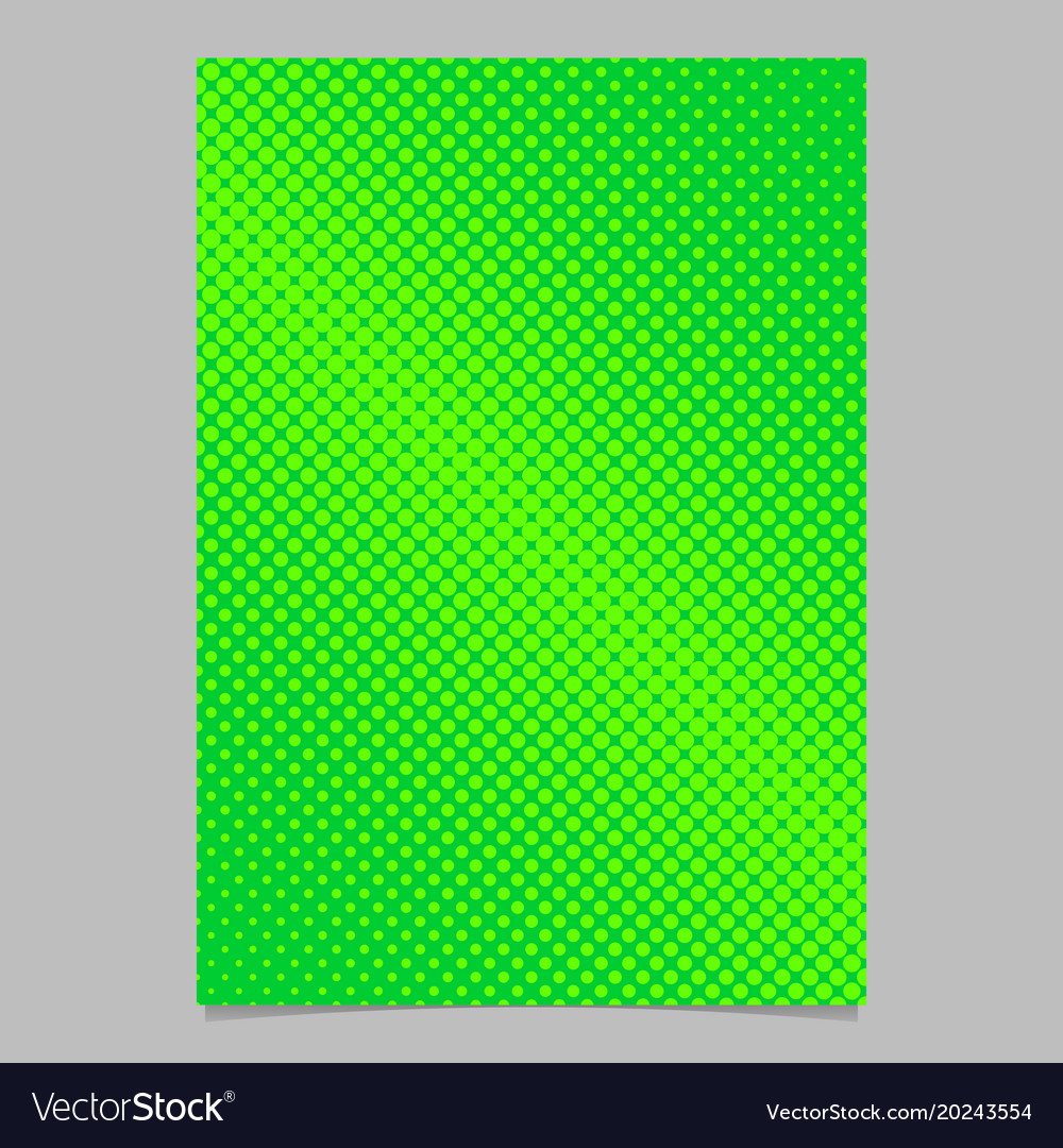 Geometrical abstract halftone dot pattern