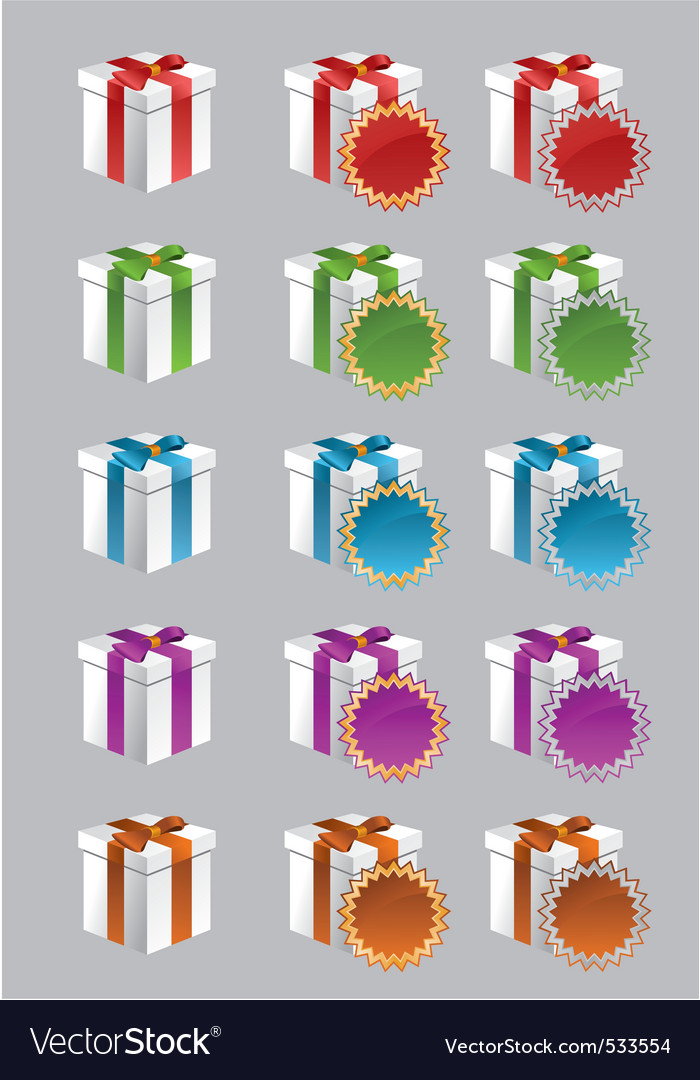 Gift and special offer boxes